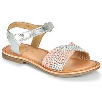 Schuhe Mädchen Sandalen / Sandaletten Gioseppo QUINCY Silbern / Rose