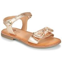 Schuhe Mädchen Sandalen / Sandaletten Gioseppo CLEBER Rose / Gold