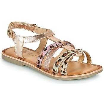 Schuhe Mädchen Sandalen / Sandaletten Gioseppo PALMYRA Rose / Gold