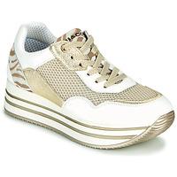 Schuhe Damen Sneaker Low IgI&CO ALMINTA Weiss / Gold