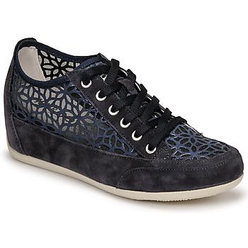 Schuhe Damen Sneaker Low IgI&CO ANINOMA Blau