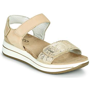 Schuhe Damen Sandalen / Sandaletten IgI&CO FRAPLA Gold