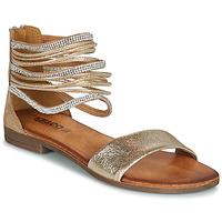 Schuhe Damen Sandalen / Sandaletten IgI&CO BRONIA Gold / Cognac
