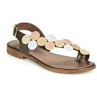 Schuhe Damen Sandalen / Sandaletten IgI&CO CROPPA Braun