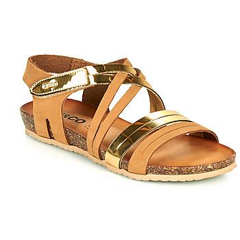 Schuhe Damen Sandalen / Sandaletten IgI&CO DREZZINA Cognac / Gold