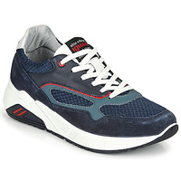 Schuhe Herren Sneaker Low IgI&CO COCULA Marine / Rot