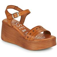 Schuhe Damen Sandalen / Sandaletten Musse & Cloud MILI Cognac