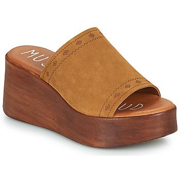 Schuhe Damen Pantoffel Musse & Cloud MANA Cognac