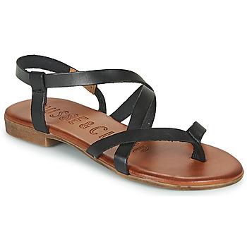 Schuhe Damen Sandalen / Sandaletten Musse & Cloud ESTELA Schwarz