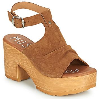 Schuhe Damen Sandalen / Sandaletten Musse & Cloud FOXY Cognac
