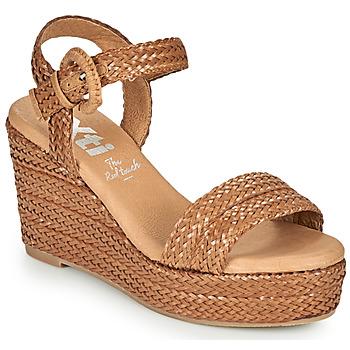 Schuhe Damen Sandalen / Sandaletten Xti CRAMA Cognac