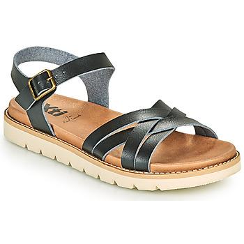 Schuhe Damen Sandalen / Sandaletten Xti OSSA Schwarz