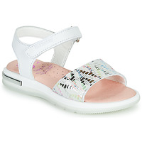 Schuhe Mädchen Sandalen / Sandaletten Pablosky CAMMI Weiss