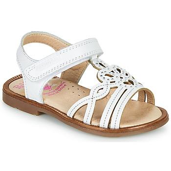 Schuhe Mädchen Sandalen / Sandaletten Pablosky MARIE Weiss