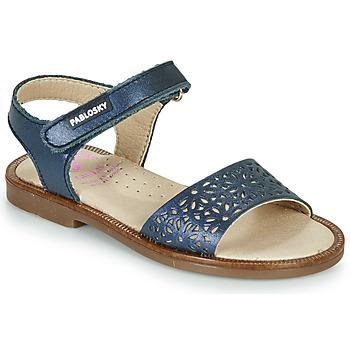 Schuhe Mädchen Sandalen / Sandaletten Pablosky LILLA Marine
