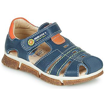 Schuhe Jungen Sandalen / Sandaletten Pablosky REAL Marine