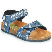 Schuhe Jungen Sandalen / Sandaletten Pablosky FOUNIR Blau