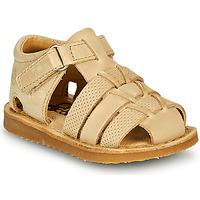 Schuhe Jungen Sandalen / Sandaletten Citrouille et Compagnie MISTIGRI Beige