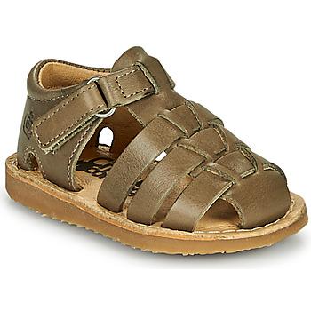 Schuhe Jungen Sandalen / Sandaletten Citrouille et Compagnie MISTIGRI Kaki