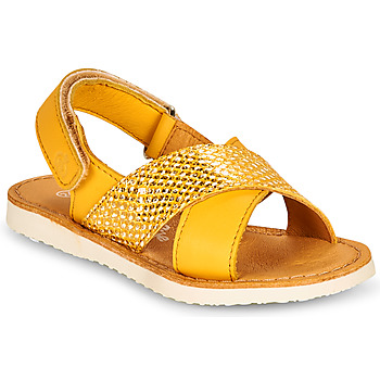 Schuhe Mädchen Sandalen / Sandaletten Citrouille et Compagnie OVETTE Gelb