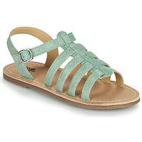 Schuhe Mädchen Sandalen / Sandaletten Citrouille et Compagnie MAYANA Türkis