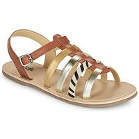 Schuhe Mädchen Sandalen / Sandaletten Citrouille et Compagnie MAYANA Braun