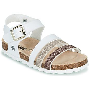 Schuhe Mädchen Sandalen / Sandaletten Citrouille et Compagnie OMAYA Weiss