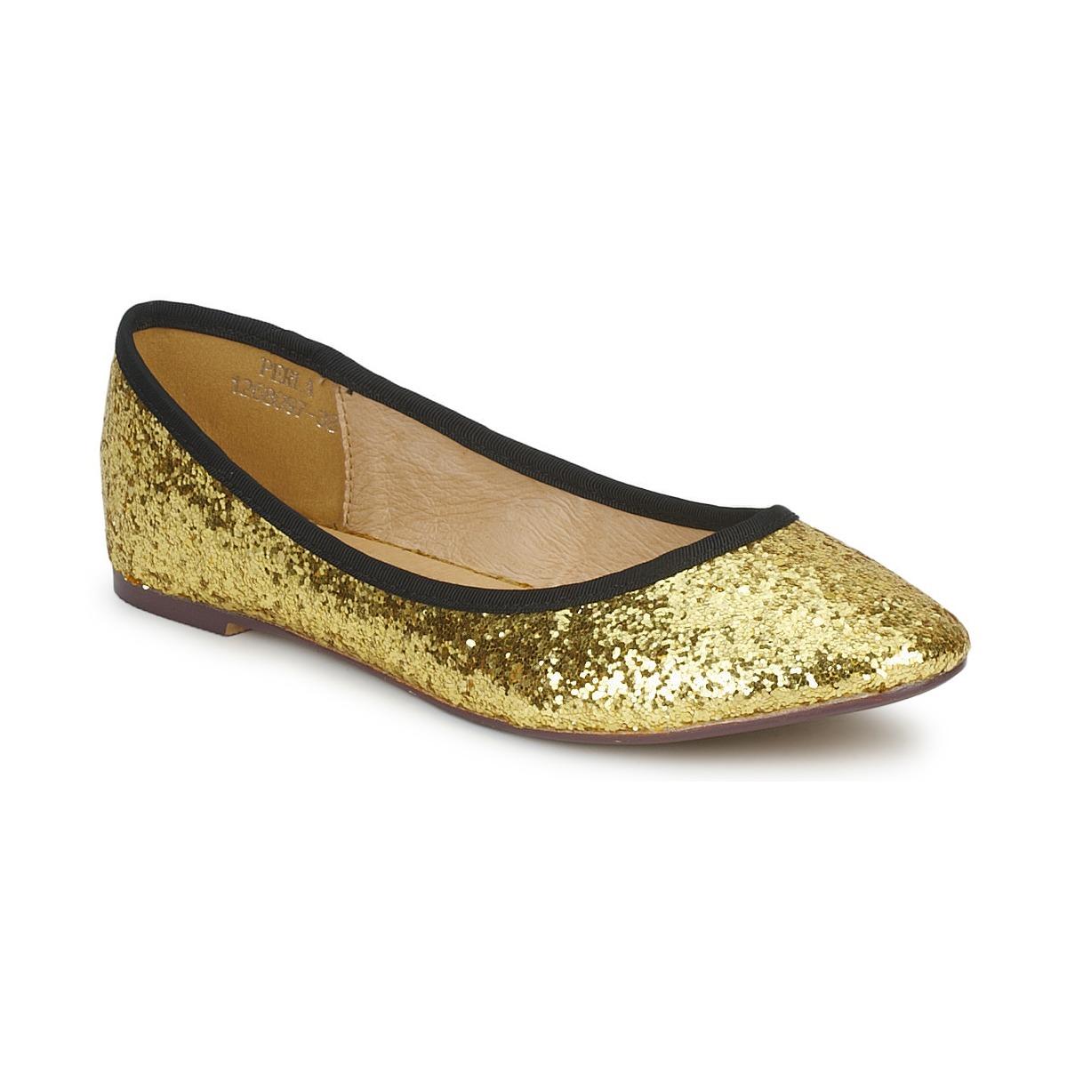 Friis & Company PERLA Goldfarben - Kostenloser Versand bei Spartoode ! - Schuhe Ballerinas Damen 32,00 €