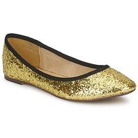 Schuhe Damen Ballerinas Friis & Company PERLA Goldfarben
