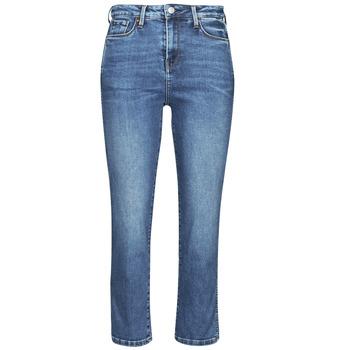Kleidung Damen Slim Fit Jeans Pepe jeans DION 7/8 Blau / Hf8