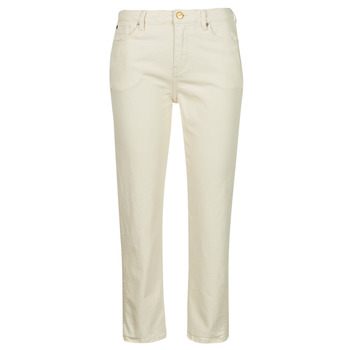 Kleidung Damen Slim Fit Jeans Pepe jeans DION 7/8 Naturfarben / Wi5