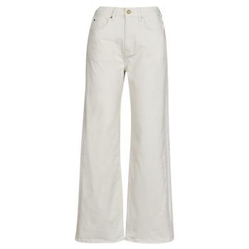 Kleidung Damen Straight Leg Jeans Pepe jeans LEXA SKY HIGH Weiss / Wi5