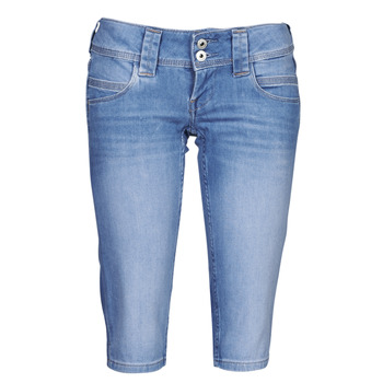 Kleidung Damen 3/4 Hosen & 7/8 Hosen Pepe jeans VENUS CROP Blau