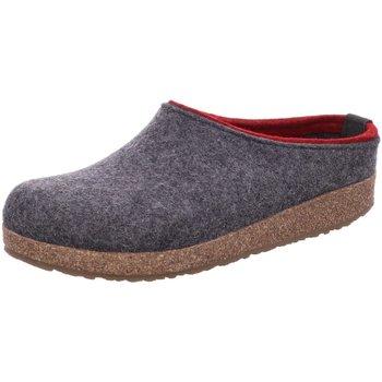 Schuhe Damen Hausschuhe Haflinger Kris 711056-304 grau