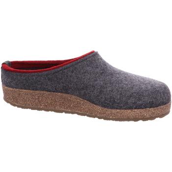 Haflinger Kris 711056-304 grau - Schuhe Hausschuhe Damen 5995