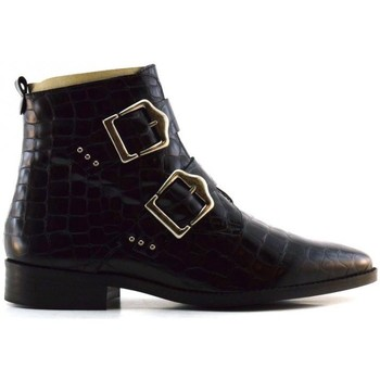 Schuhe Damen Boots Caractères info Schwarz