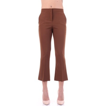 Kleidung Damen Anzughosen Angela Davis EG71 Tabak