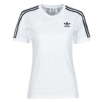 Kleidung Damen T-Shirts adidas Originals 3 STRIPES TEE Weiss