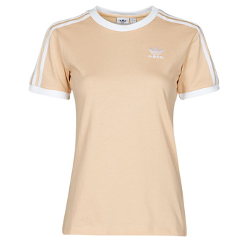 Kleidung Damen T-Shirts adidas Originals 3 STRIPES TEE Orange