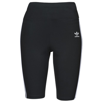 Kleidung Damen Leggings adidas Originals HW SHORT TIGHTS Schwarz