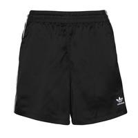 Kleidung Damen Shorts / Bermudas adidas Originals SATIN SHORTS Schwarz