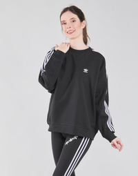Kleidung Damen Sweatshirts adidas Originals OS SWEATSHIRT Schwarz
