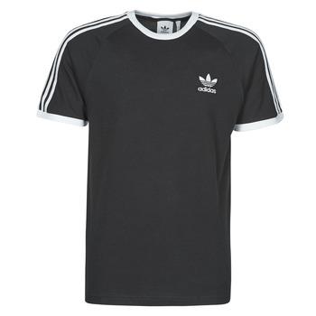 Kleidung Herren T-Shirts adidas Originals 3-STRIPES TEE Schwarz