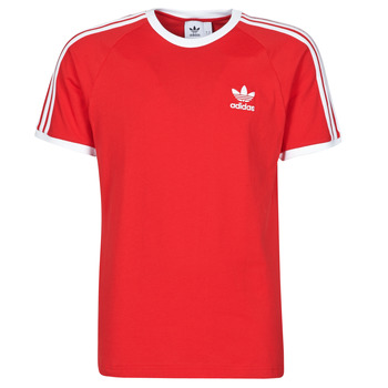 Kleidung Herren T-Shirts adidas Originals 3-STRIPES TEE Rot