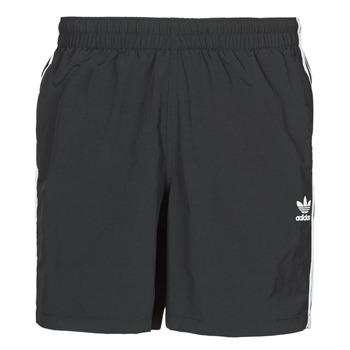 Kleidung Herren Badeanzug /Badeshorts adidas Originals 3-STRIPE SWIMS Schwarz