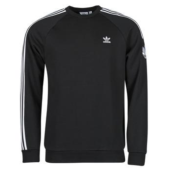 Kleidung Herren Sweatshirts adidas Originals 3D TF 3 STRP CR Schwarz