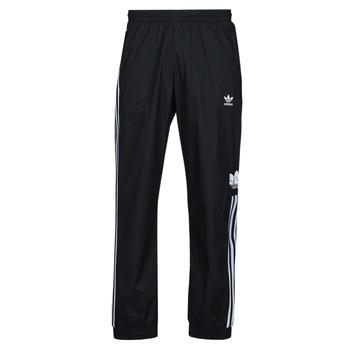 Kleidung Herren Jogginghosen adidas Originals 3D TF 3 STRP TP Schwarz