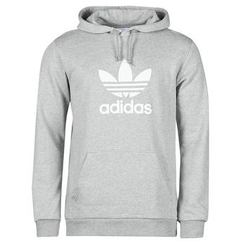 Kleidung Herren Sweatshirts adidas Originals TREFOIL HOODIE Grau