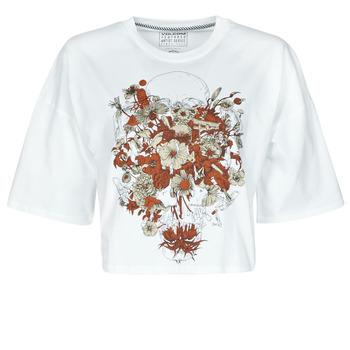 Kleidung Damen T-Shirts Volcom FA FORTIFEM TEE Weiss