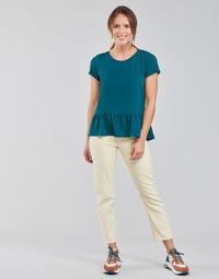 Kleidung Damen Straight Leg Jeans Lee CAROL Naturfarben